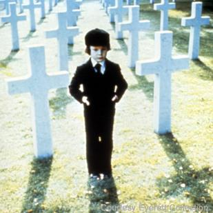 The Omen (1976): There are bound to be hundreds of girls wearing skimpy red ...