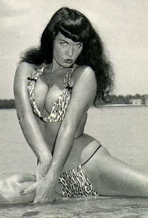 bettie page swimsuit