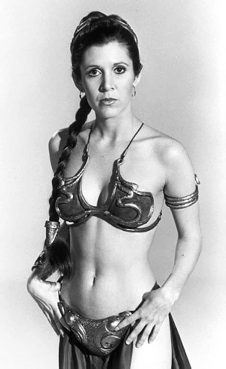 carrie fisher swimsuit