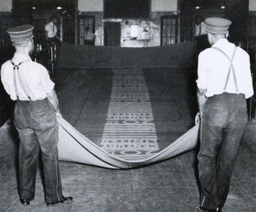 1960s red carpet