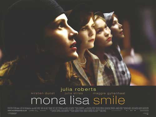 mona lisa smile poster
