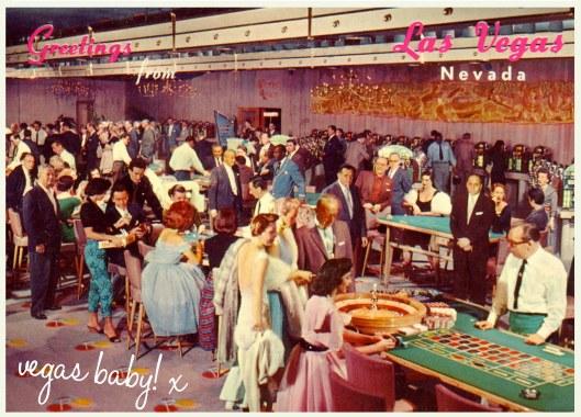 vintage las vegas postcard