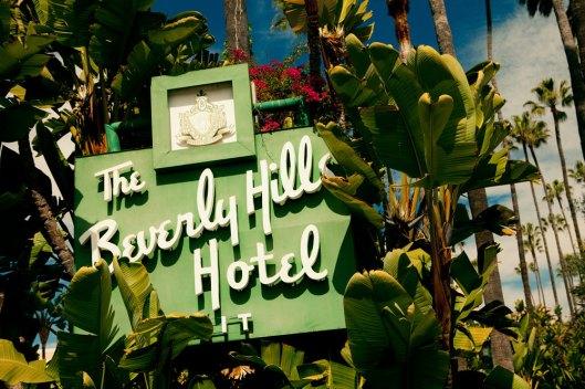 vintage beverly hills hotel
