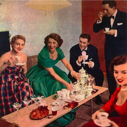 vintage-dinner-party